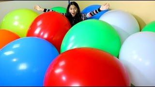 Download MEGA HUGE BALLOON POP Worlds Biggest Balloons| B2cutecupcakes Video