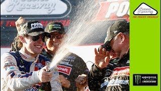 Download Keselowski gives impromptu interview of Blaney in Victory Lane Video