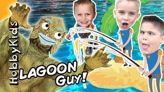 Download Lagoon Fishing For Surprise Toys with HobbyKidsTV Video