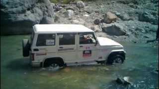 Download Bolero SLX 4wd crossing river Video