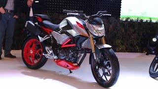 Download Hero XF3R 300cc Street concept bike at 2016 Auto Expo Video