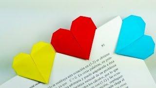 Download Marcapáginas Corazón - Origami! Video