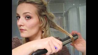 Download Kako nakovrčati kosu peglom Video