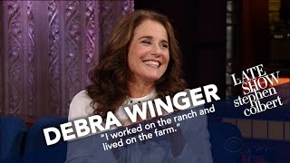 Download Debra Winger Is Obsessed With Catholic Saints Video