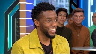 Download Chadwick Boseman opens up about 'Black Panther' live on 'GMA' Video