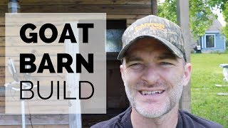 Download GOAT Barn Build | RECYCLED & Leftover Materials | The Hesitant Homesteader Video
