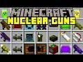 Download Minecraft EXPLOSIVE GUN MOD!   NUKES, NEW GUNS, ROCKET LAUNCHERS, & MORE!   Modded Mini-Game Video