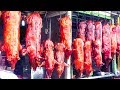 Download Asian Street Food, Fast Food Street in Asia, Cambodian Street food #163 Video