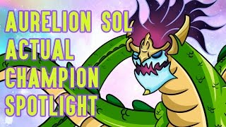 Download Aurelion Sol ACTUAL Champion Spotlight Video