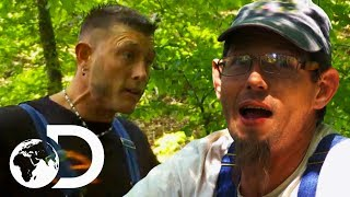 Download Building Dam Causes Explosive Argument | Moonshiners Video