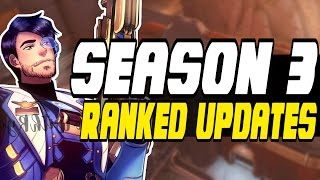 Download HOW SEASON 3 WILL WORK!! - Overwatch Season 3 RANKS CHANGE | Placement Matches - PTR Video
