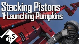 Download Space Engineers: Pistons and Rotors after the Physics Update (tests and tips for Space Engineers) Video