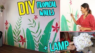Download DIY: TROPICAL WALLS + BUCKET LAMP Video