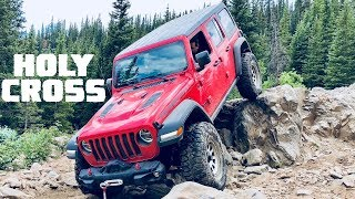 Download We Take Our 2018 Jeep Wrangler JLU Rubicon to HOLY CROSS to Test the 38s! Video