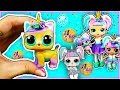 Download UNICORN PET LOL Surprise Custom Doll DIY | CONFETTI POP Customs | How to Make Dolls Video