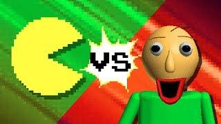 Download PACMAN vs BALDI Video