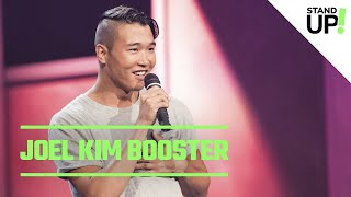 Download Joel Kim Booster Talks Being Single, Waiters With Neck Tattoos Video