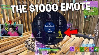 Download Ill give you $1000 if you GUESS THE EMOTE.. (Fortnite Challenge) Video