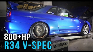 Download Nissan R34 GT-R V-Spec | 800+hp Skyline Video