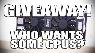 Download I'm giving away THREE GPUs! GTX1060 - GTX1070 - GTX1080 Video