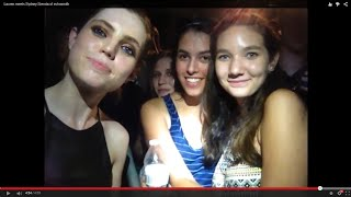 Download Lauren meets Sydney Sierota of echosmith Video
