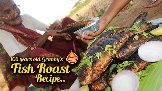 Download Fish Roast | 106 years old Granny's Fish Fry | Country Foods Video