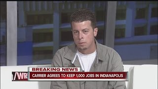 Download Long-time Carrier worker talks about excitement, fears over deal to keep jobs in Indiana Video