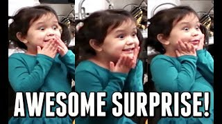 Download HER EXCITEMENT IS REAL! - January 05, 2018 - ItsJudysLife Vlogs Video