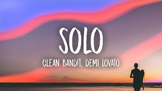 Download Clean Bandit - Solo (Lyrics) feat. Demi Lovato Video