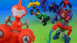 Download 2015 TRANSFORMERS ROBOTS IN DISGUISE R.I.D. SET OF 8 McDONALD'S HAPPY MEAL KID'S TOY'S VIDEO REVIEW Video
