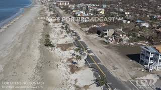 Download 10-12-2018 Mexico Beach to Port St. Joe, Fl Helicopter video of Hurricane Michael Extreme Aftermath Video