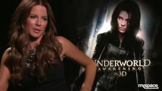 Download Kate Beckinsale tells Andrew Freund that she could kick Robert Pattinson's ass! Video