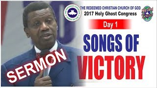 Download Pastor E.A Adeboye Sermon @ RCCG 2017 HOLY GHOST CONGRESS #Day1 Video