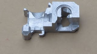 Download Metal Casting at Home Part 77 Lost PLA/Greensand Casting for the Myfordboy 3D Printer Video