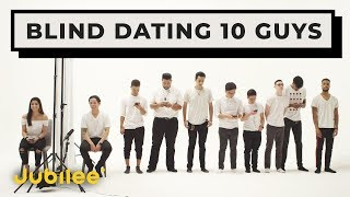 Download 10 vs 1: Speed Dating 10 Guys Without Seeing Them Video