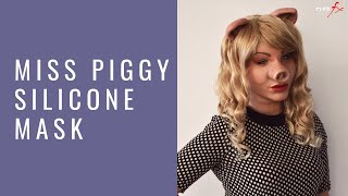 Download Miss Piggy silicone mask by Crea Fx Video