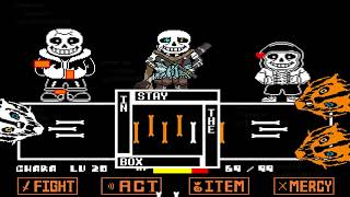 Download Undertale Ink Sans Full Fight (Version 0.30) Video