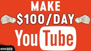 Download Make $100 Per Day On YouTube Without Making Any Videos | Make Money Online Video