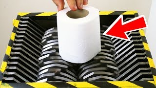 Download LOOK WHAT HAPPENS WHEN YOU SHRED TOILET PAPER ! Video