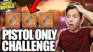 Download *EPIC* PISTOL & HAND CANNON ONLY CHALLENGE! Fortnite Battle Royale! Video