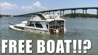 Download Acquiring a Sunken Derelict Vessel for Free Video