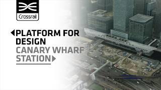Download Platform for Design: Canary Wharf station Video