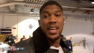 Download ANTHONY JOSHUA REACTS TO CANELO'S KO WIN ″IM A 1/4 MEXICAN NOW! VIVA MEXICO!″ Video