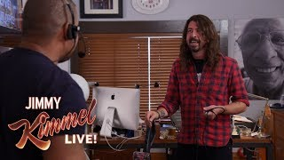 Download Guest Host Dave Grohl Takes Over Jimmy Kimmel's Office Video
