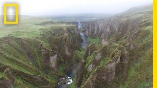 Download Drone POV: Soaring Over Iceland's Rugged Landscape | Short Film Showcase Video