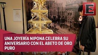 Download Exhiben en Japón árbol de Navidad valuado en casi 2 mdd Video