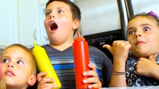 Download DAD BUSTS KIDS MAKING MESS! Video