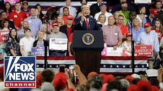 Download Trump mocks Christine Blasey Ford at Mississippi rally Video