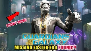 Download Ebony Maw | Guardians of the Galaxy Big Missing Easter Egg FOUND Video