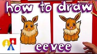 Download How To Draw Eevee Pokemon Video